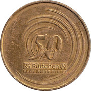 Rüttchen 50 Year Coin – revers