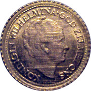 Marengo - 1 Gulden - Wilhelmina – avers