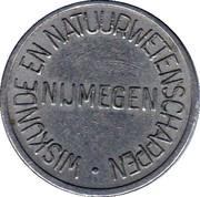 Wiskunde en natuurwetenschappen Nijmegen – avers