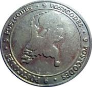 Postcode Loterij commercial token – avers
