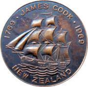 James Cook Bi-Centenary 1969 - New Zealand – avers