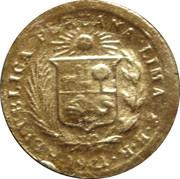 REPUBLICA PERUANA LIMA Z B R 1921 – avers