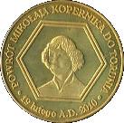 Powrót M. Kopernika do Torunia – revers
