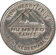 Jeton - Nu Metro Games – avers