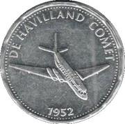 Shell - Flight and space flight - De Havilland Comet – avers