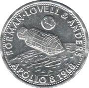 Shell - Flight and space flight - Borman Lovell & Anders – avers