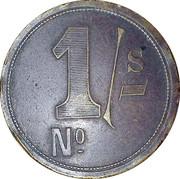 RH Hovenden & Sons London 1 Shilling – revers