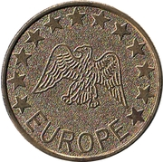 Jeton - Europe (No Cash Value - Aigle) -  avers