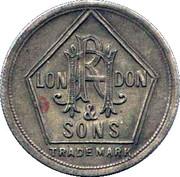 RH Hovenden & Sons London – avers