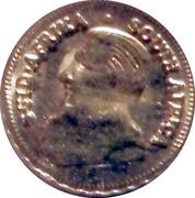 1 Krugerrand Gold plated token – avers