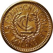 10 La Compagnia Calle Milano Token – avers