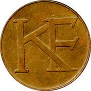 Jeton - KF (Katarinahissen elevator) – avers