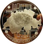 commémoration des billets de banque nationale Suisse – revers