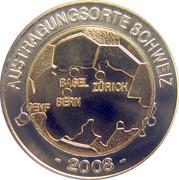 Euro-Football 2008 Suisse Autriche – avers