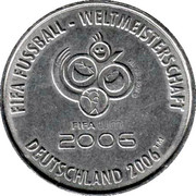 FIFA WM 2006 - Frankfurt – revers