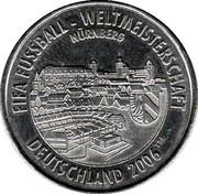 FIFA WM 2006 - Nürnberg – avers