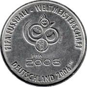 FIFA WM 2006 - Nürnberg – revers