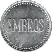 Jeton de bière - Ambros (1 Liter Beer) – avers