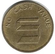 Jeton no cash value S – avers