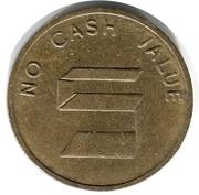 Jeton no cash value S – revers