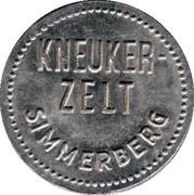 Jeton de bière - 1 Liter Biermarke (Kneukerzelt Simmerberg) – avers