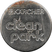 Jeton de lavage automobile - Kärcher Clean Park (Stuttgart/Heilbronn/Backnang/Neckarsulm, Type 2) – revers