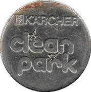 Jeton de lavage automobile - Kärcher Clean Park (Stuttgart/Heilbronn/Backnang/Neckarsulm) – revers