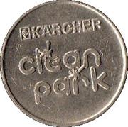Jeton de lavage automobile - Kärcher Clean Park (Trier) – revers