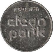 Jeton de lavage automobile - Kärcher Clean Park (Schwäbisch Gmünd) – revers