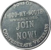 Sons of Confederate Veterans -  revers