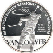 Token - Deutschland (Germany at the Vancouver Olympic Games) – avers