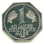 1 Deutsche Mark / 40 Years Anniversary – avers