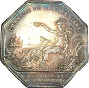 Chambre de commerce d'Amiens - Louis-Philippe – revers