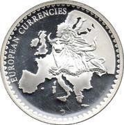 Token - European Currencies (Germany) – revers