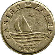 Casino Frehel (22) - 2 francs – avers