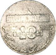 Casino de Deauville (14) - 10 francs – revers