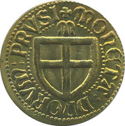 Moneta Prusia – avers