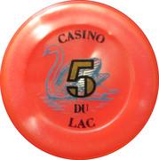 Casino Bagnoles-de-l'Orne (61) - 5 francs – avers