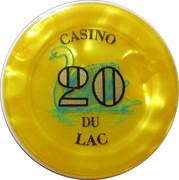 Casino Bagnoles-de-l'Orne (61) - 20 francs – avers
