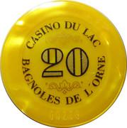 Casino Bagnoles-de-l'Orne (61) - 20 francs – revers