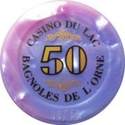 Casino Bagnoles-de-l'Orne (61) - 50 francs – revers