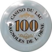 Casino Bagnoles-de-l'Orne (61) - 100 francs – revers