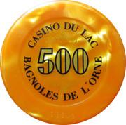 Casino Bagnoles-de-l'Orne (61) - 500 francs – revers