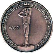 Wasserburg Summer Regatta Medal – revers
