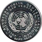 Vereinte Nationen – avers