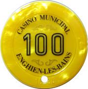 Casino Enghien-Les-Bains (95) - 100 francs – revers
