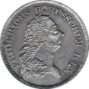 medaille fridericus borussorum rex – avers