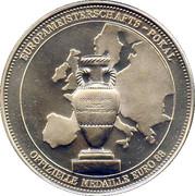 Jeton - UEFA Euro 1988  – avers