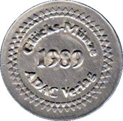 Lucky Coin from ADAC – revers