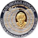 jeton - allemagne - Hans-Dietrich Genscher – avers